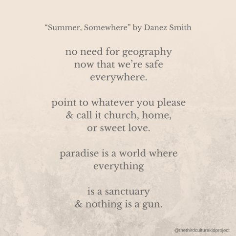 no need for geographynow that we're safe everywhere.point to whatever you please& call it church, home, or sweet love.paradise is a world where everythingis a sanctuary & nothing is a gun. (2).png